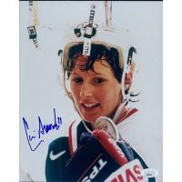 Cammi Granato Team USA Hockey Signed 8x10 Glossy Photo JSA Authenticated