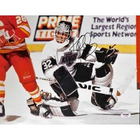 Kelly Hrudey Los Angeles Kings Signed 11x14 Glossy Photo PSA/DNA Authenticated