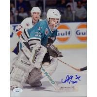 Arturs Irbe San Jose Sharks Signed 8x10 Glossy Photo JSA Authenticated