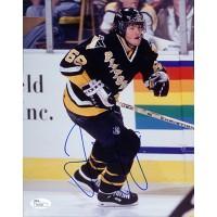 Jaromir Jagr Signed Pittsburgh Penguins 8x10 NHL Photo JSA Authenticated