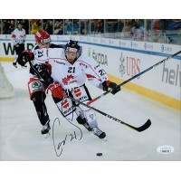 Chris Kelly Team Canada Signed 8x10 Matte Photo JSA Authenticated