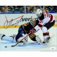 Andrei Loktionov New Jersey Devils Signed 8x10 Matte Photo JSA Authenticated