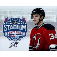 Jon Merrill New Jersey Devils Signed 8x10 Matte Photo JSA Authenticated