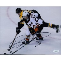 Brandon Montour Anaheim Ducks Signed 8x10 Matte Photo JSA Authenticated