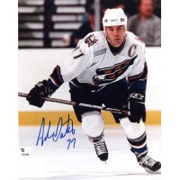 Adam Oates Signed Washington Capitals 8x10 NHL Photo Global Authenticated