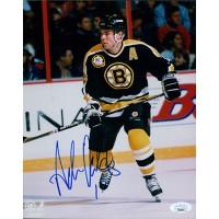 Adam Oates Boston Bruins Signed 8x10 NHL Glossy Photo JSA Authenticated