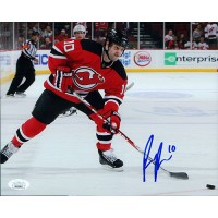 Rod Pelley New Jersey Devils Signed 8x10 Matte Photo JSA Authenticated