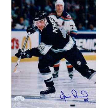 Yanic Perreault Los Angeles Kings Signed 8x10 Glossy Photo JSA Authenticated