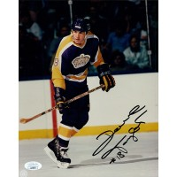 Dave Taylor Los Angeles Kings Signed 8x10 Glossy Photo JSA Authenticated