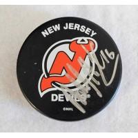 Bobby Holik New Jersey Devils Signed Hockey Puck JSA Authenticated