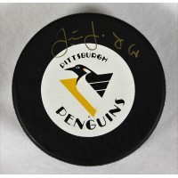 Jaromir Jagr Pittsburgh Penguins Signed Hockey Puck PSA Authenticated