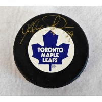 Felix Potvin Toronto Maple Leafs Signed Hockey Puck JSA Authenticated