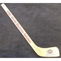 Wayne Gretzky Signed Roy Firestone Award Mini Hockey Stick JSA Authenticated