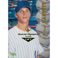 Michael Barrett 1995 Classic Five Sport Card #95 Special Olympics Nevada 1/1