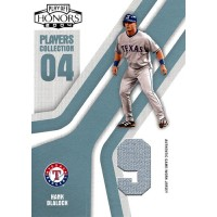 Hank Blalock Rangers 2004 Playoff Honors Players Collection Card #PC-32 /50