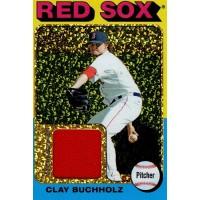 Clay Buchholz 2011 Topps Lineage Mini 1975 Design Relics Card #75R-CBU 9/10