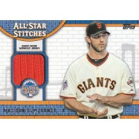 Madison Bumgarner San Francisco Giants 2013 Topps All Star Stitches Card #ASR-MB