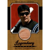 Jose Canseco Tampa Bay Rays 2001 Upper Deck Legends Legendary Lumber Card #L-JC