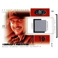 Roger Clemens 2004 Fleer Hot Prospects Draft Edition Rewind Card #DR/RC 57/119