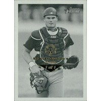 Ben Davis SD Padres 2001 Bowman Heritage Card #52 Special Olympics Nevada 1/1