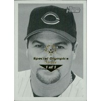 Osvaldo Fernandez Reds 2001 Bowman Heritage Card #46 Special Olympics Nevada 1/1