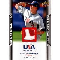 Parker French 2009 Upper Deck USA Baseball Box Set Card #USA-123 /65