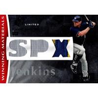 Geoff Jenkins Milwaukee Brewers 2008 SPX Winning Materials Card #WM-GJ /99