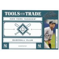 Derek Jeter 2004 Playoff Absolute Memorabilia Tools of The Trade Card TT-40 /150
