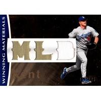 Jeff Kent Los Angeles Dodgers 2008 SPX Winning Materials Card #WM-JK /125