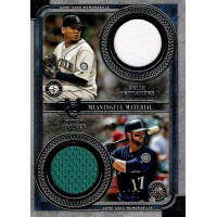 Felix Hernandez Mitch Haniger 2019 Topps Museum Collection Meaningful Jersey /50