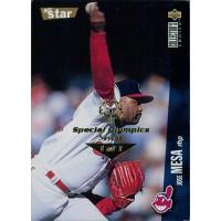Jose Mesa 1996 Collector's Choice Baseball Card #121 Special Olympics Nevada 1/1