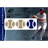 Aramis Ramirez Chicago Cubs 2008 SPX Winning Materials Card #WM-RA /99
