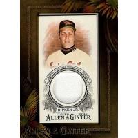 Cal Ripken Jr. 2016 Topps Allen & Ginter Framed Mini Relics Jersey Card #AGR-CR