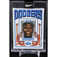 Jackie Robinson Brooklyn Dodgers Topps Project 2020 Card 1952 #210