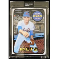 Nolan Ryan New York Mets Topps Project 2020 Card 1969 #87