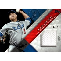 Hyun-Jin Ryu Los Angeles Dodgers 2018 Topps Series One Baseball Card #MLM-HJR 99