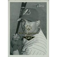 Fernando Tatis Expos 2001 Bowman Heritage Card #166 Special Olympics Nevada 1/1