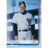 Joe Torre New York Yankees 2019 Topps Special Safe At Home Baseball Card