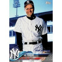 Joe Torre New York Yankees 2018 Topps Special Safe At Home Baseball Card