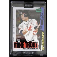 Mike Trout Los Angeles Angels Topps Project 2020 Card 2011 RC #85
