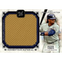 Rickie Weeks 2014 Topps Museum Collection Momentous Material Card #MMJR-RW /50