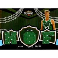 Larry Bird Boston Celtics 2007 Topps Triple Threads Card #TTR-69 13/27