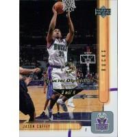 Jason Caffey Milwaukee Bucks 2001-02 UD Card #93 Special Olympics Nevada 1/1