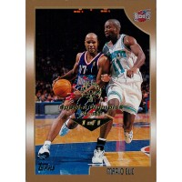 Mario Elie Houston Rockets 1998-99 Topps Card #9 Special Olympics Nevada 1/1