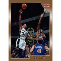 Sean Elliott Spurs 1998-99 Topps Card #100 Special Olympics Nevada 1/1
