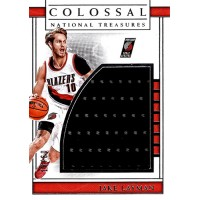 Jake Layman Blazers 2016-17 Panini Colossal National Treasures Card #12 /60
