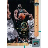 Grant Long Memphis Grizzlies 2001-02 UD Card #84 Special Olympics Nevada 1/1