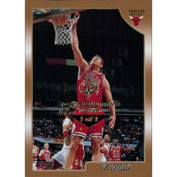 Luc Longley Chicago Bulls 1998-99 Topps Card #18 Special Olympics Nevada 1/1