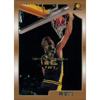 Rik Smits Indiana Pacers 1998-99 Topps Card #115 Special Olympics Nevada 1/1