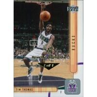 Tim Thomas Milwaukee Bucks 2001-02 UD Card #96 Special Olympics Nevada 1/1